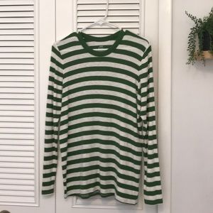comfy striped long sleeve
